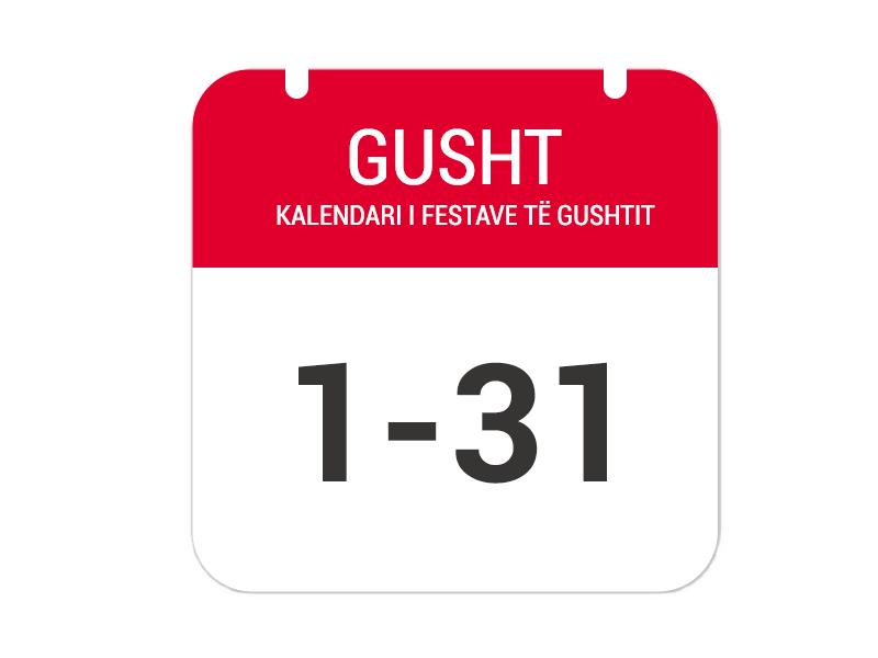 """1-31 Gusht – """"Festa e Liqenit të Zi"""""""