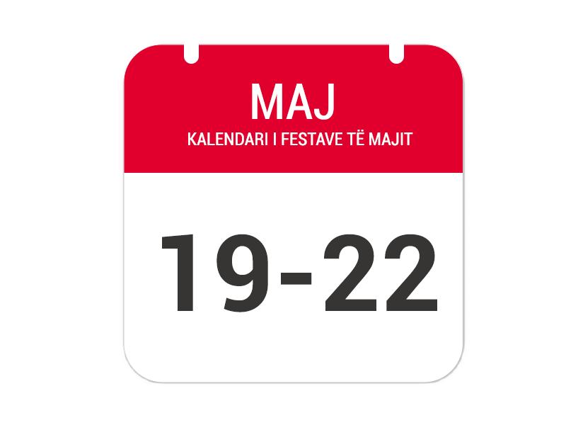 """19-20 Maj – """"Festa e Afërditës"""""""