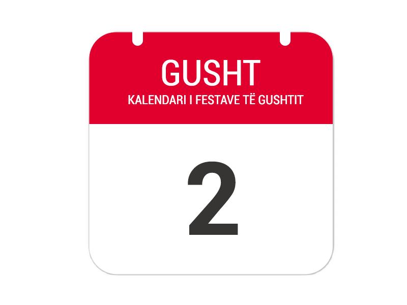 """2 Gusht - """"Festa e Shënlliut (Shën Ilia)"""""""