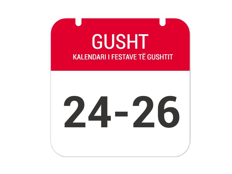 """24-25-26 Gusht – """"Festa e Tomorrit"""""""