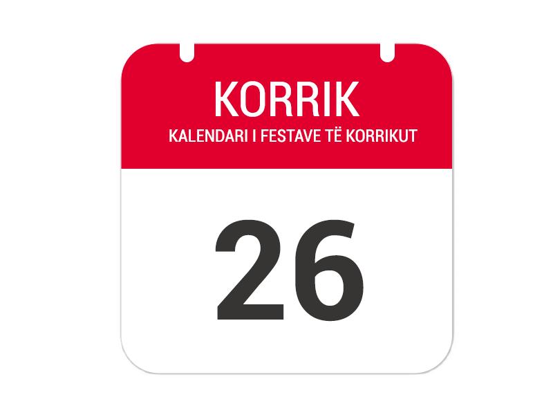 """26 korrik – """"Festa e Grabovës"""""""