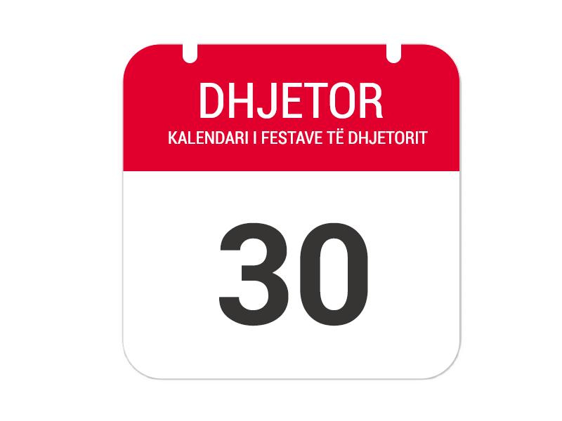 """30 Dhjetor - """"Festa e gjelave të detit"""""""