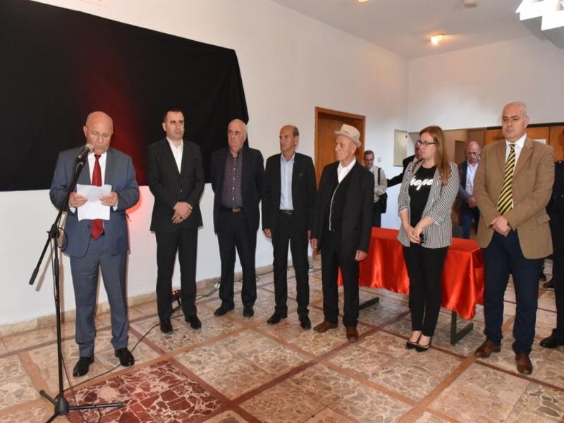Organizohet ceremonia e zhvendosjes së eshtrave të Dëshmorit të Atdheut z. Mehmet Sali Alcani